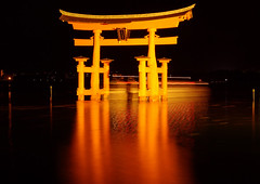 Miyajima Torii  Night CruiseWorldheritage (h orihashi) Tags: reflection japan night landscape fun gate shrine pentax hiroshima miyajima harmony  torii soe breathtaking shiningstar  globalvillage worldheritage nationalgeographic itsukushima aphoto aclass  peopleschoice   blueribbonwinner  personalbest  5photosaday flickrstars bej golddragon mywinners royalgroup k10d pentaxk10d platinumphoto anawesomeshot flickrhearts diamondclassphotographer flickrdiamond superhearts lunarvillage citrit excellentphotographerawards colourmafia heartawards theunforgettablepictures platinumheartaward betterthangood theperfectphotographer awesomepictureaward highqualityimages spiritofphotography hatsukaichishi mikesdance photographersgonewild pigawards grouptripod monkeyawards doubledragonawards colorphotoawardpremier mallmixstaraward masterpiecesonblack flickrclassique