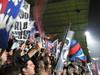 Supporters parisiens durant le match HAC 1-3 PSG