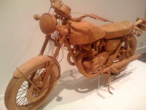 Wooden Motorcycle (by ann-dabney)