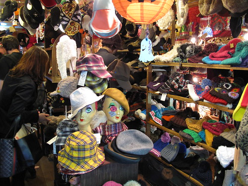 Hat shop in Shimo Kitazawa