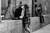 Sapessi com'è strano sentirsi innamorati a Milano (kenyai) Tags: milano canon5d biancoenero 105mm viamercanti interestingness15 i500 canonef24105mmf4lisusm eidem kenyaieidem