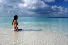 The quiet sea of Maldives (Dan & Luiza from TravelPlusStyle.com) Tags: maldives conrad rangali