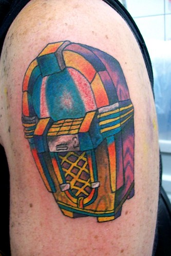 juke box tattoo