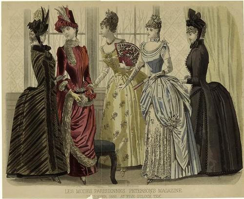 018-Les Modes parisiennes-El té de las cinco en punto 1886