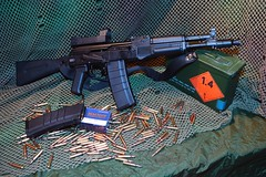 AK 102 (Mathieu GUY) Tags: gun arms ar arm rifle assault weapon remington cartridge 223 kalashnikov saiga fusil arme gewehr assaut blackrifle ak102 izhmash