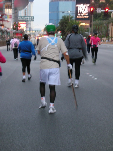 In fact, I took so many pix, I kept falling behind the handicapped runners.