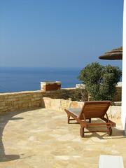 Our hotel room balcony (Carlitos) Tags: sea island hotel mar europa europe greece grecia hora isla chora cyclades folegandros ellda  cicladas    fatamorganastudios