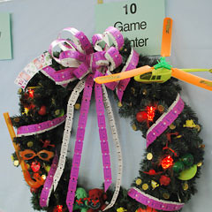 The Game Room Wreath