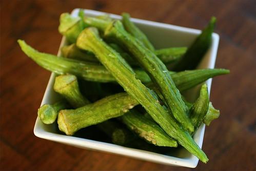Food find: Okra chips