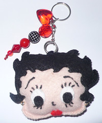 Betty Boop (Laylla Calais) Tags: feltro bettyboop chaveiro