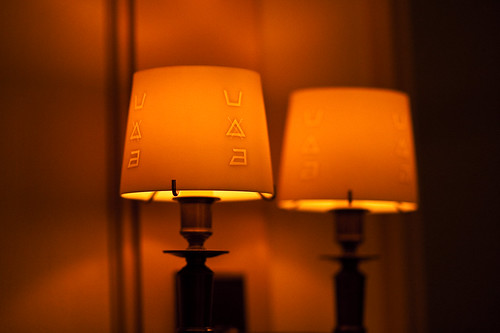 French Laundry lampshades