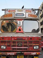 MWS - Goods Carrier (andthemonkey) Tags: india bombay mumbai galli dadar phool