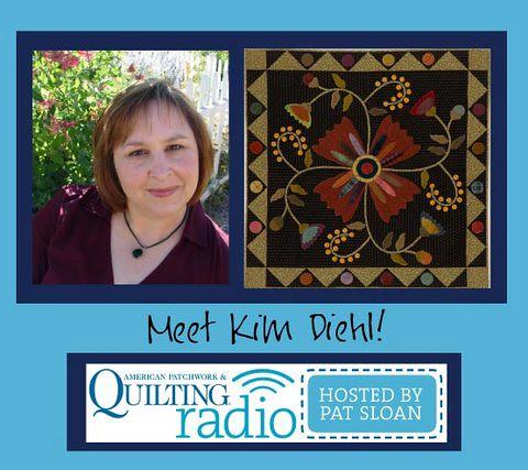 Pat Sloan for APQ Radio guest Kim Diehl
