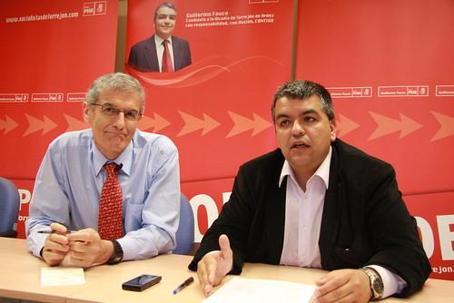 Rueda de Prensa sobre la Sanidad y el modelo de Hospital de Torrejón con Guillermo Fouce y José Manuel Freire