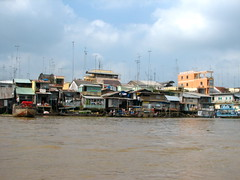 I want my MTV (astroboy_71) Tags: life travel houses color colour water colors television architecture buildings tv colorful asia southeastasia colours waterfront vietnam observe mekongdelta antenna mekong antennas southeastasiaimages