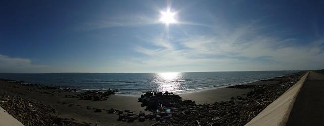 靠近台灣最西側的海岸