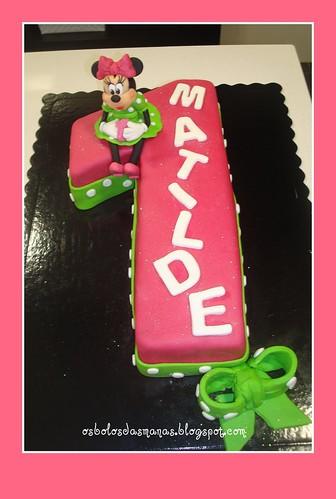 Bolo N 1 Minnie  Mouse by Osbolosdasmanas