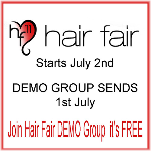 Hair Fair Demo Group by Sasy Scarborough ♥