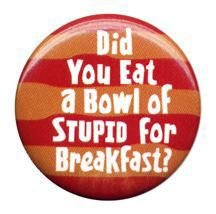 Did you eat of bowl of stupid.jpg
