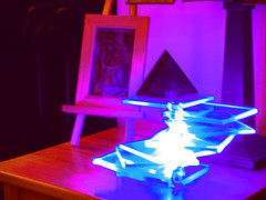 Nightime Glow (rcano1979) Tags: room nighttime lamps darkened