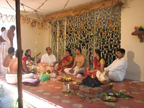 the family at home with the homam 250308