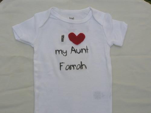 I love aunt farrah