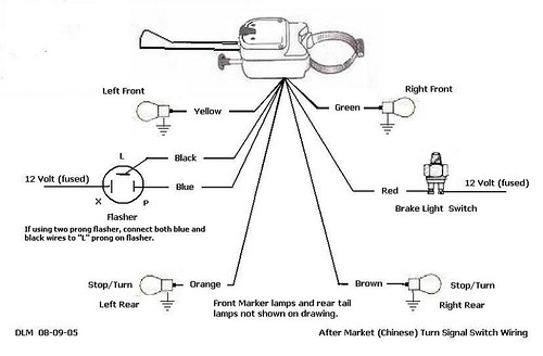 cadillac turn signal switch wiring grote turn signal switch wiring schematic thesamba.com :: kit car/fiberglass buggy - view topic ... #14