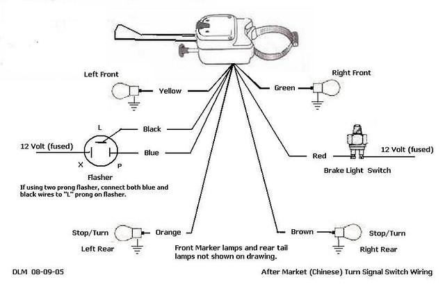 thesamba com :: kit car/fiberglass buggy/356 replica - view topic - what  did i wire incorrectly? turn signal/speedometer