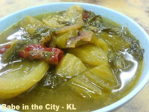 FW - stewed kai choy
