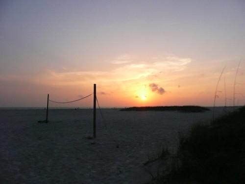 sunset treasure island