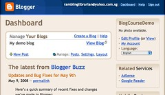 Blogger: Dashboard