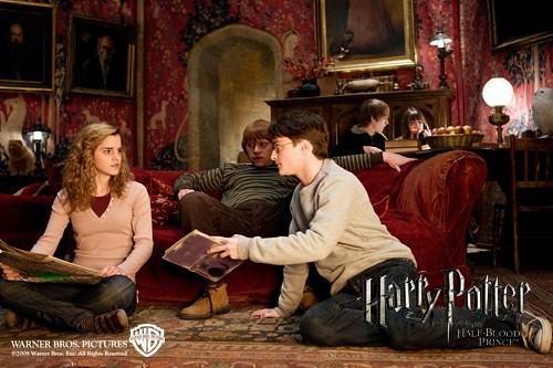 Harry Potter y el misterio del príncipe, libro de pociones Snape
