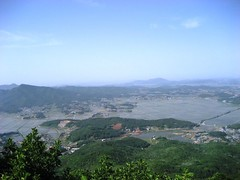 View from Mount Manisan, Gangwhado