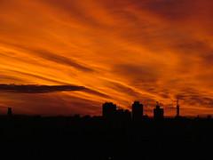 #Explore# Horizonte (DeniSomera) Tags: sunset pordosol brazil sky brasil laranja céu londrina cidades oragesky