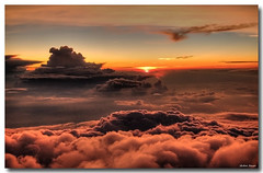 (Shobeir) Tags: travel sunset clouds flight soe hdr cloudysky airplaneview viewfromairplane sunsetcolors photomatix tonemapping golddragon mywinners platinumphoto anawesomeshot aplusphoto diamondclassphotographer flickrdiamond goldstaraward shobeiransari