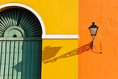 Museo de Viejo San Juan's famous Lantern & Shadow (Face-2-Face) Tags: door old blue homes red vacation sky cloud sun house hot history beach window colors beautiful statue bronze contrast wow palms island gold countryside amazing fantastic paradise glow purple camino bright oldsanjuan puertorico balcony magic country great roots sunny paloma visit surfing sanjuan delight excellent vista balconies pr caribbean eden rays bella portfolio fabulous viejo isla brilliant morro breathtaking viejosanjuan boricua threekings encanto garita excellence coqui raiz orona jibarito lostresreyesmagos ralphoronaphotography picturesfrompuertorico picsfrompuertorico ropall