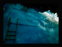 Sky in the swimming pool (otto el piloto!!) Tags: fun visualarts photographyrocks qualitypixels photoshopcreativo internationalflickrawards