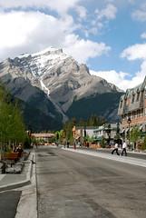 Street in Banff