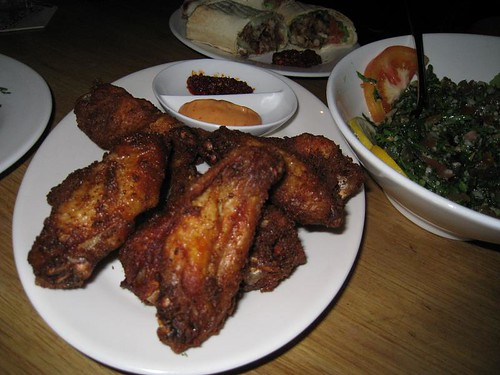 Fried Chicken Wings @ Kazbar