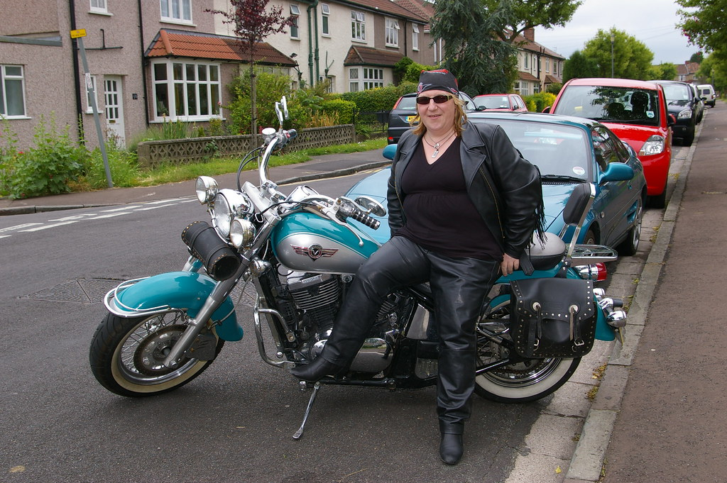 And whatever comes my way (Nicola_R) Tags: bbw lesbian rock biker chick babe