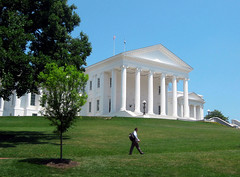 Jefferson's Capital, Richmond Virginia (moonjazz) Tags: city usa white house history architecture virginia power state roman center richmond architect capitol government jefferson column graceful mywinners
