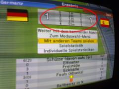 Deutschland gegen Spanien