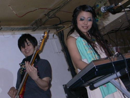 Masashi & Rica from Hanjiro at QOS x Geisha Disco Party