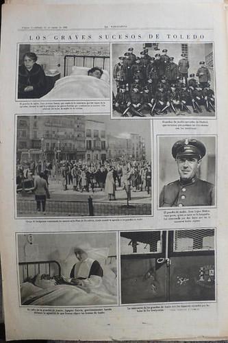 TOLEDO-Los Graves sucesos ocurridos-Interior Periodico de 1932 -Vell i Bell
