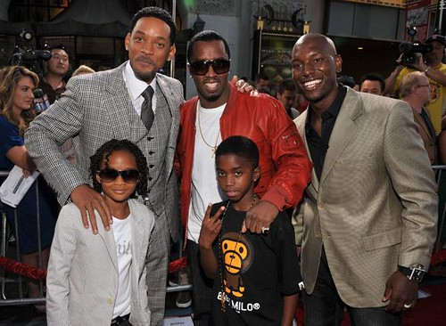 Tyrese diddy and will smith
