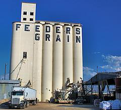 Grain Elevator off 24th Ave. (Laveen Photography (aka cyclist451)) Tags: arizona phoenix az agriculture grainelevator valleyofthesun