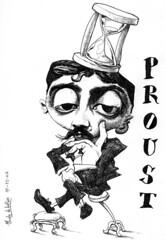 PROUST, Marcel (Morales de los Ríos) Tags: writers caricaturas philosophers caricatures escritores filósofos