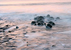 On The Beach (The Groovster) Tags: morning summer beach wales sunrise dawn coast early seaside sand rocks waves tide rockpools llantwitmajor thegroovster
