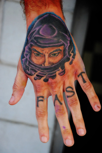 Ninja tattoo done by Joe at asgard ink tattoo studio New Albany,