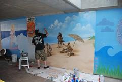 DSC_0761 (Kurt Christensen) Tags: art beach painting mural surf thrust gilgobeach gilgo